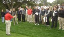 eric jones golf exhibition at Stanford
