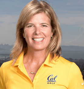 Nancy McDaniel Cal Bears Women's Golf Head Coach