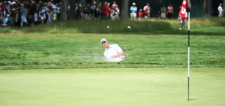 jeff brehaut us open bunker shot