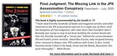 Michael Collins Piper Final Judgment