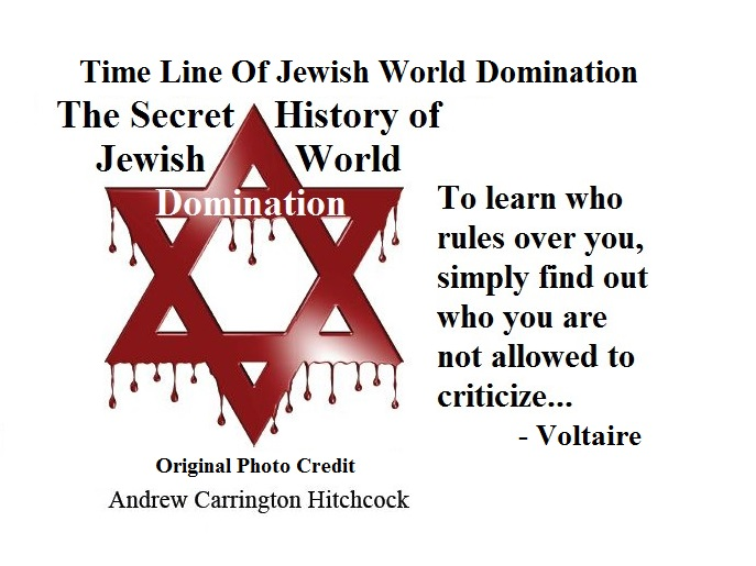 Time line of Jewish Domination