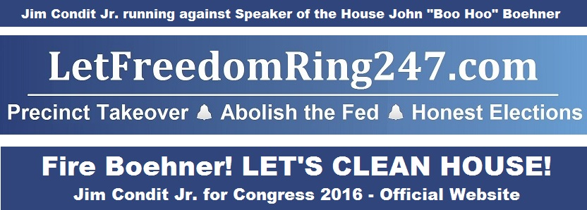 Let Freedom Ring Rectangle Fire Boehner LONG