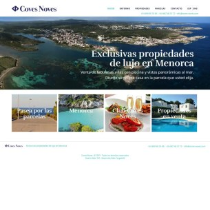 Desarrollo Genesis WordPress - Coves Noves