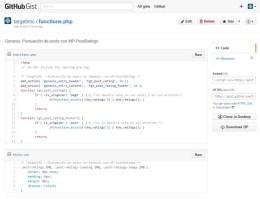 Insertar un Gist de Github en WordPress o Genesis