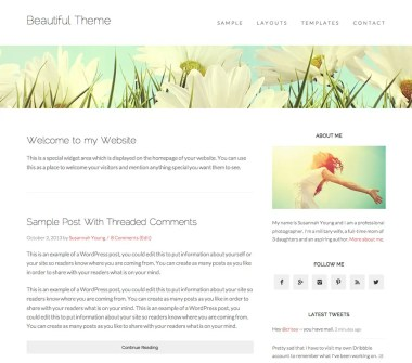 Genesis Beautiful Pro Theme by StudioPress