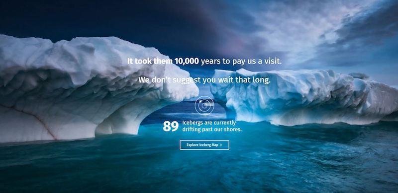Iceberg Finder