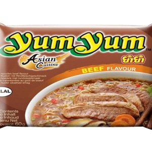 Yum Yum Instant Noodle Beef Flavour 60g