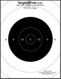 free printable shooting target # 31