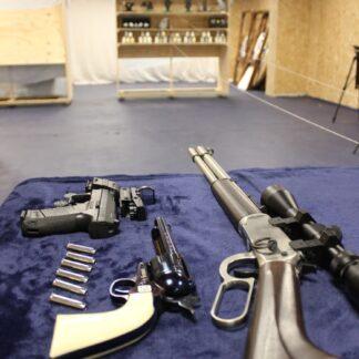 Air rifle and air pistols