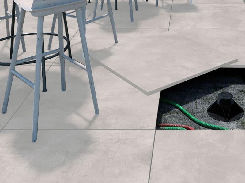 luna pearl 20mm patio floor tiles 600x600mm