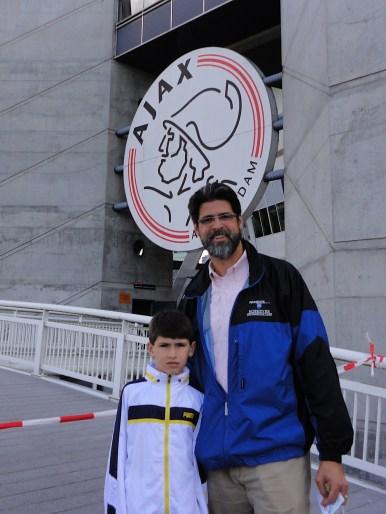 At AFC Ajax w- Mack.