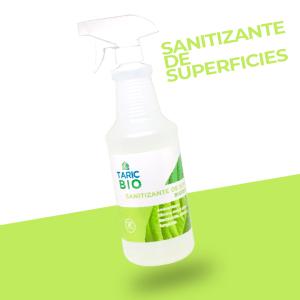 Sanitizante de superficies biodegradable