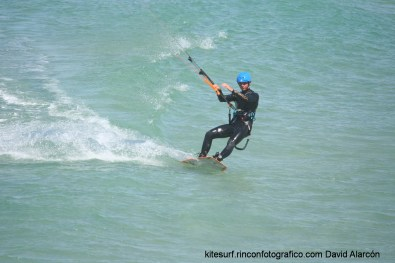 kitesurf en balneario Tarifa