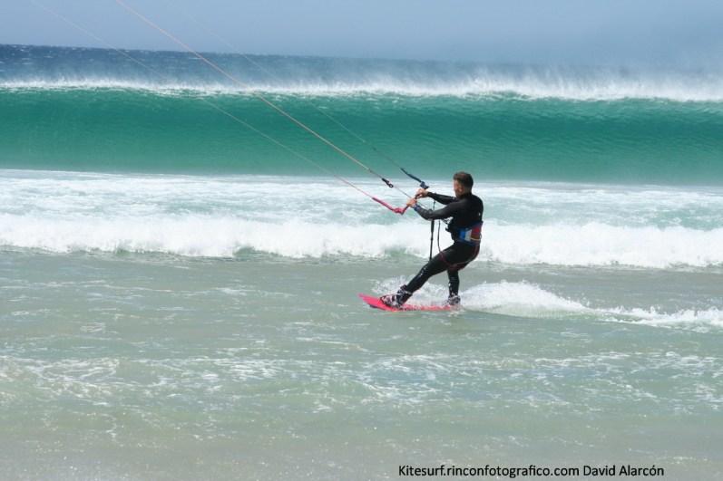 kitesurf en balneario, Tarifa