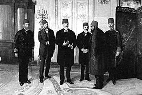 II.Abdülhamid Han'ın İttihatçılar tarafından Selanik'e Sürgünü