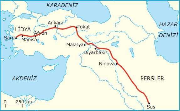 Kral Yolu Gezergahı Haritası