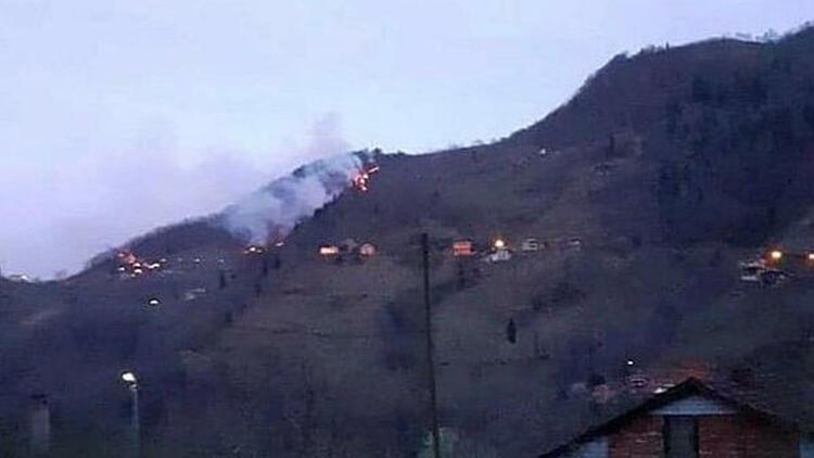 Trabzon'daki Orman Yangınları Kontrol Altına Alındı