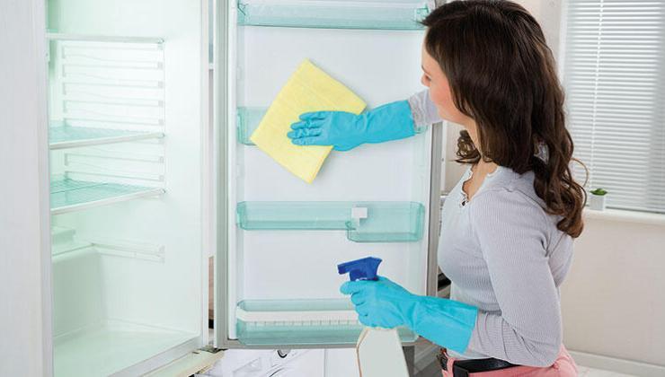 Koronaya karşı buzdolabınızı sık temizleyin