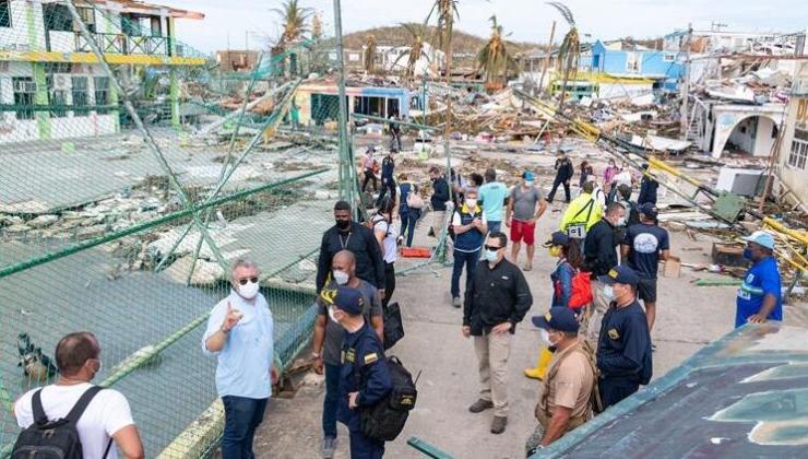 Iota Kasırgası Orta Amerika'yı Vurdu