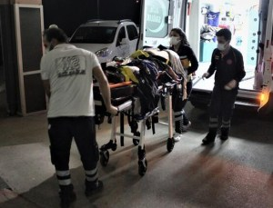 Tarım İşçilerini Taşıyan Minibüs Otoyoldaki Tünelde Takla Attı