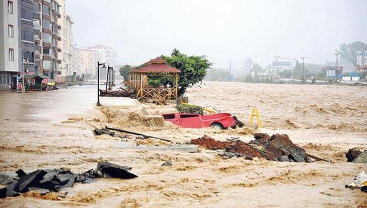 Rize ve Artvin'de Yaşanan Sel Felaketinin Zararı 200 Milyon Lira!