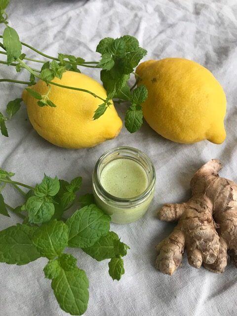 Antiinflammatorisk shot med ingefära och citron