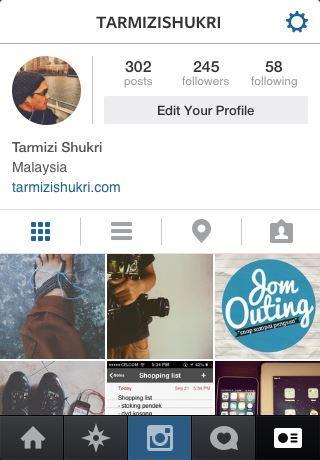 instagram tarmizi shukri