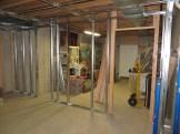 Door back into the workshop