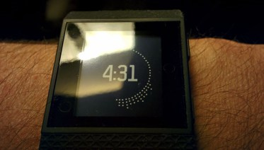 Fitbit Surge HR Display