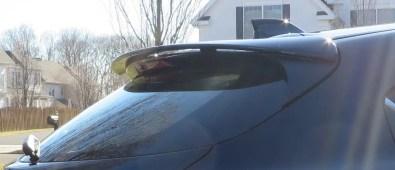 Mazda-3 Rear Hatch Spolier