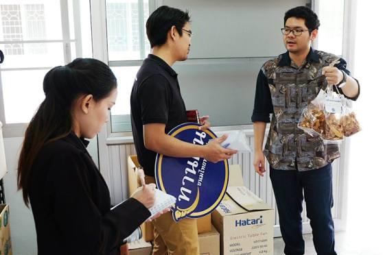 ศูนย์บ่มเพาะวิสาหกิจ (UBI) มทร. อีสาน เข้าตรวจเยี่ยมผู้ประกอบการแบรนด์ทานฝัน กล้วยเบรตแตกและขนมไทยทานเล่น