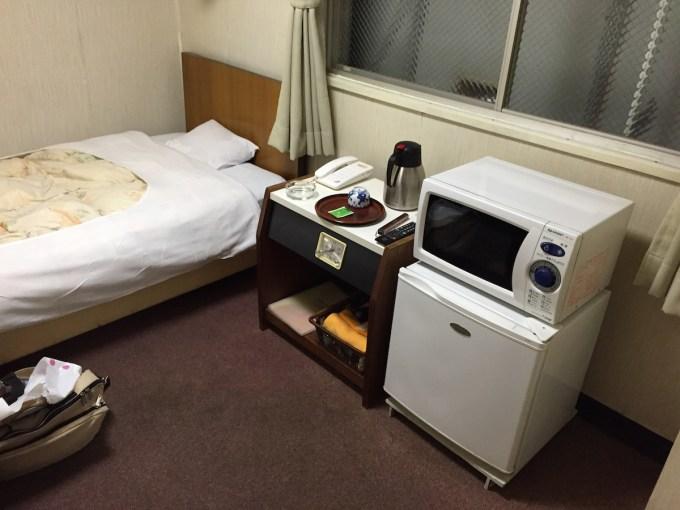 20141014ビジネスホテル三幸荘