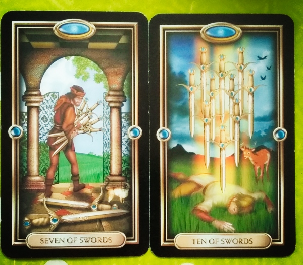 tarot card combinations for money
