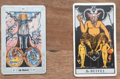 De Duivels uit het Crowley en Waite Tarot deck