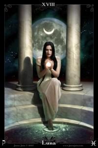 A lua nos ajuda a enxergarmos no escuro