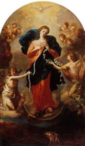 Virgen María, la que Desata los Nudos