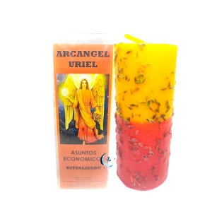 Velón preparado Arcángel Uriel