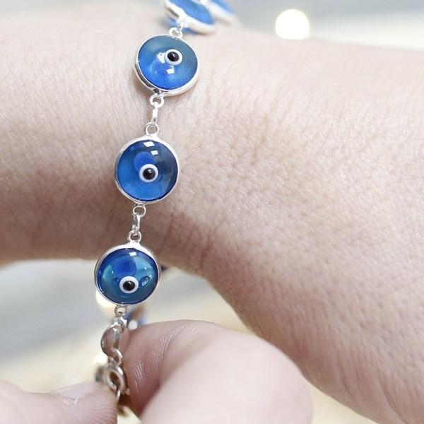 Pulsera ojo turco Azul Turquesa