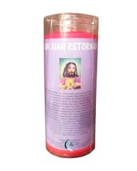 Velón de oración a Don Juan Retornado