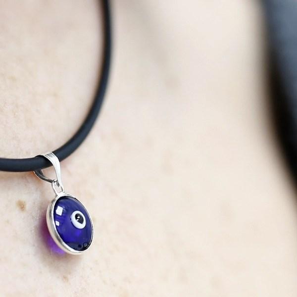 Colgante ojo turco - azul