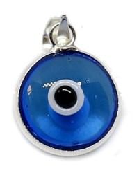 Colgante ojo turco azul turquesa