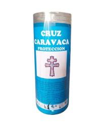 Velón Cruz de Caravaca con aceite