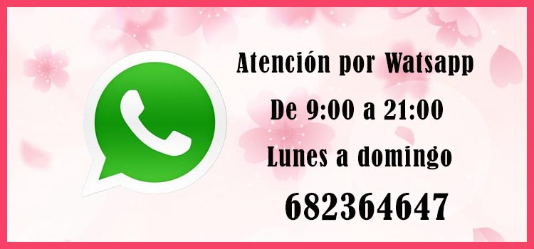 Contacta con nosotros por WhatsApp