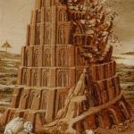 16 The Tower Bruegel Tarot by Guido Zibordi Marchesi