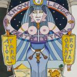 2 The High Priestess Tarot of the Sephiroth, Dan Staroff