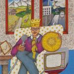 77 King of Coins The New Age Tarot Neuzeit Tarot Walter Wegmüller