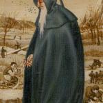 9 The Hermit Bruegel Tarot by Guido Zibordi Marchesi
