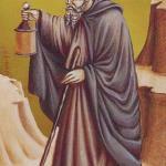 9 The Hermit The Giotto Tarot deck by Guido Zibordi Marchesi