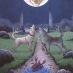 Llewellyn's Classic Tarot (19) The Moon