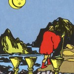 Tarot Rider-Waite 78 8 of Cups